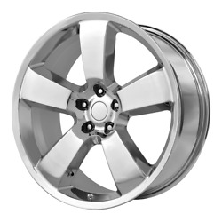 4 Rims Oe Creations For Dodge Charger Srt 17 22x9 5x115 Offset 18 Chrome