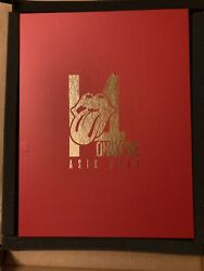 The Rolling Stones 2014 On Fire Asian Tour. Lithograph Concert Poster Box Set.