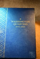 1932--1964 Washington Quarter 83 Coin Set With 1932-d And 1932-s Key Dates 155