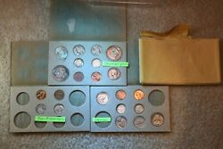 1955 Silver P/d/s Mint Set 22 Us Mint Coins And Some Gorgeous Toned Coins 212
