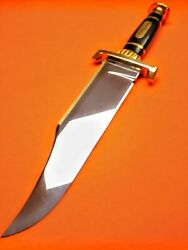 Custom Voorhis Iron Mistress Bowie Knife New'
