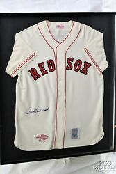 Signed Jersey Ted Williams Boston Red Sox Baseball Mlb Mitchell And Ness 21721