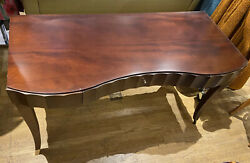 Art Deco Style Desk By Barbara Barry For Baker - Rare And Near Perfect Condition