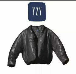 Yeezy X Gap Round Jacket Black Size Xl In Hand Ship Same Day As Bought