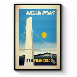 American Airlines - San Francisco Vintage Wall Art