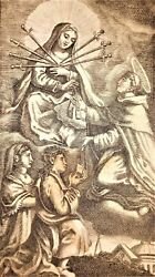 Collection Of 41 Pictures Of The Virgin Mary. Engraved On Paper. Spain.xviii-xix
