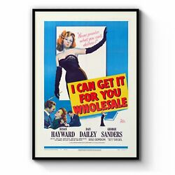 I Can Get You For Wholesale Movie Wall Art