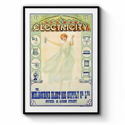 Melbourne Electric Supply Company Vintage Wall Art