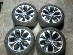 2015 Bmw X3 Set Of 4 Rims With Tires 19 19x8-1/2 Alloy Y-spoke See Pictures