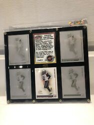 2002 Pacific Sylvain Girard Treasury Collection 4 Printing Plates 1 Of 1 Cards