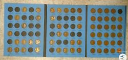 61 Coin Set 1909-1940 Lincoln Wheat Penny Cent - Early Dates Collection  113
