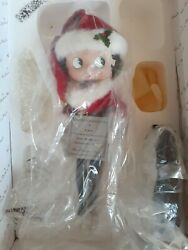 Very Rare 1999 Betty Boop Holiday Betty Christmas Doll. New In Box