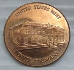 1789 Denver Colorado Co Department Treasury United States Us Mint Medal