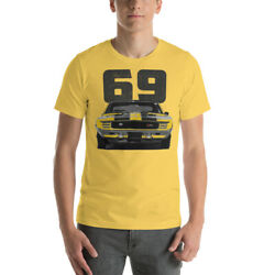 1969 Chevy Camaro Rs Z28 Muscle Car Short-sleeve Unisex T-shirt