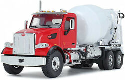 First Gear 1/34 Scale Diecast Collectible Red/white Peterbilt Model 567 With