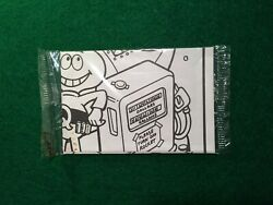Vtg Quaker Oats Quisp 2 Sided Coloring Poster Cereal Premium Prize Toy