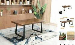 Modern Computer Desk For Home Office Sturdy Student Writing Desk Solid 47inch