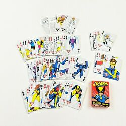 Vintage Marvel X-men Playing Cards 1993 - Wolverine Cyclops X Men - Complete