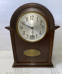 """Antique Sessions Westminster Electric Mantel Clock No. 29 """" Serviced"""""""