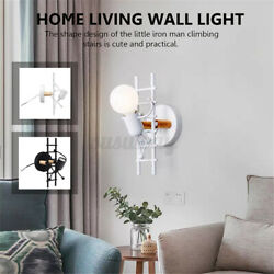 7w Industrial Wall Sconce Light Vintage Lamp Home Living Room Fixture D1