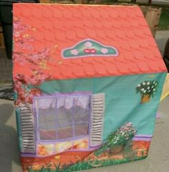 Playskool Cherry Blossom Market Grocery Store Playset Rose Petal Cottage House