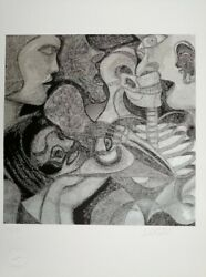 Zak Raton Limited Edition Print Signed And Numbered In Pencil
