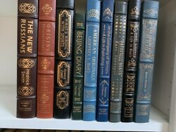Easton Press Signed First Editions - Leather - 19 Booksandnbsp
