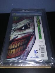 New 52...batman And Robin 15 Cgc 9.8... Death Of The Family Tie In...