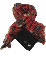 Louis Vuitton Chapman Brothers Garden In Hell Cashmere Silk Scarf/stole 2013