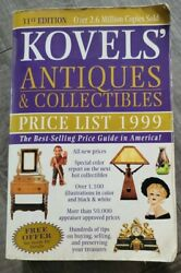 31rd Ed Kovelsand039 Antiques And Collectibles 1999 Price List Selling Guide Free S/h