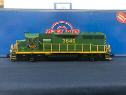 Atlas O Reading 3640 Gp-35 Diesel Engine W/ Lionel Railsounds And Tmcc 1122