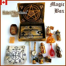 Box Witchcraft Kit Starter Ritual Magic Wicca Pagan Altar Witch Spell Curse Gift