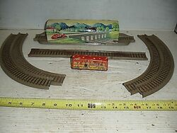 Old Vintage Technofix Tin Wind Up Halloween Ghost Train Set From Us Zone Germany