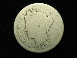 New Inventory Beautiful 1884 Liberty V Nickel In Collectible Condition 70p