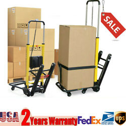 Electric Folding 120w Stair Climbing Hand Truck Cart Dolly 440lb. Max Load