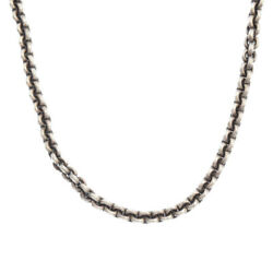 Chrome Hearts Rs Loop Chain 20 Silver Necklace Inches Secondhand Degree Ab Color