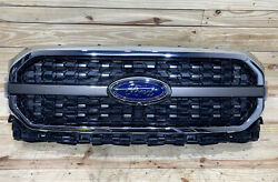🔥⭐ Oem 2021 2022 Ford F150 F-150 King Ranch Grille Radiator Shutter Assembly