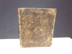 1792 Kjv Bible Full-leather New York Hodge And Campbell