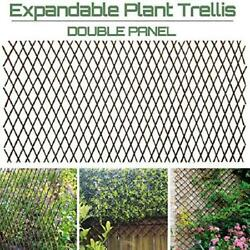 Sumery Nature Willow Trellis Expandable Plant Support Plant Climbing Lattices Tr