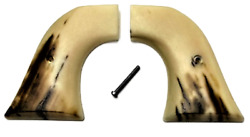 Fits Ruger Wrangler Grips .22 Model Faux Mammoth Abs