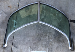 Large Curved Boat Windshield