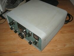 Heathkit Sb-401 Transmitter With Extra Cables For Sb-303 Connections