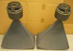 Pair Altec Lansing Voice Of The Theater Horn Model 311-60 W/291-16b Drivers