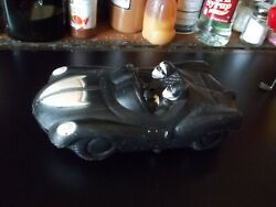 Rare 9 Worcester Toy Co Plastic Batmobile Batman And Robin Vintage Good Cond. See