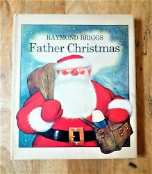 1973 1st / 1st Edition Father Christmas First Print Raymond Briggs The Snowman