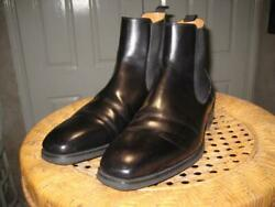 Magnanni Riley Black Chelsea Diversa Boots Size 12 M Us 21139 Made In Spain
