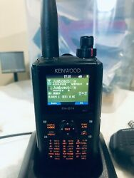 Kenwood Th-d74a Tri-band Handheld Transceiver W/ Many Extras