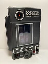 1978 Tomy Digital Derby Auto Raceway Handheld Electronic Game Clean / Tested