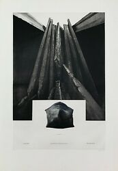 Christian Fossier / Hand Signed And Numbered Etching