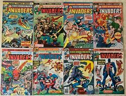Invaders 1-41 Annual 1 Giant-size 1 + Fantastic Four Annual 11 | 44 Total